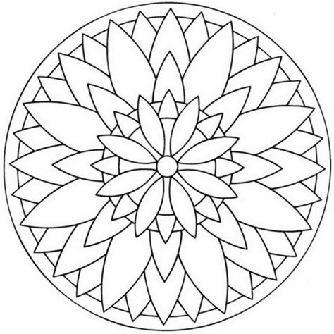 coloring pages mandala flower bell ornament coloring pages sketch coloring page