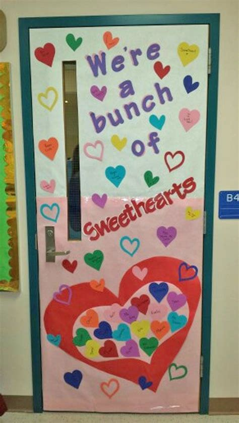 door decorations for valentines 27 creative classroom door decorations for s day