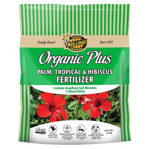 Kellogg Garden Products by Kellogg Garden Organics 3 5 Lb Palm Tropical And Hibiscus