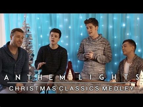 youtube anthem lights christmas classics medley anthem lights mashup