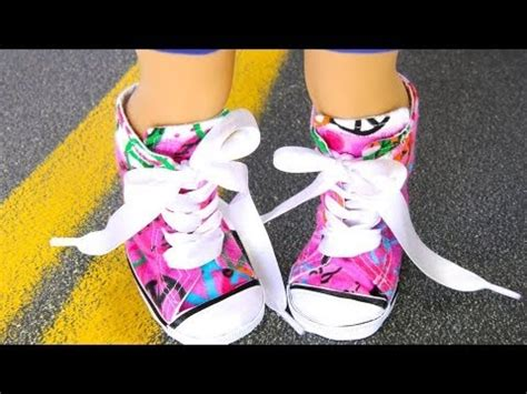how to make shoes for american dolls how to make doll shoes 18 inch resize sneakers plus