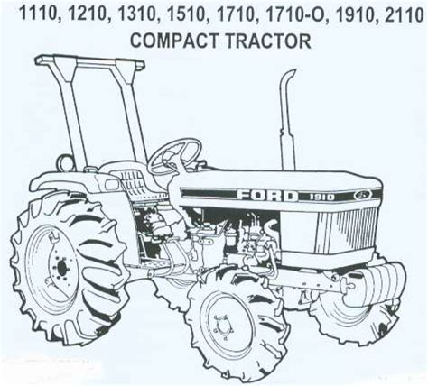 1710 Ford tractor parts