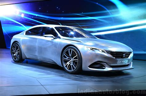 peugeot concept paris live euro spec and revised peugeot exalt concept