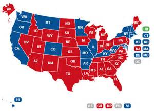 us map of republican and democratic states 2014 gop governors try to keep their hold on battleground states