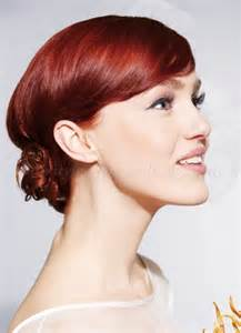 bun styles for american with medium length hair shoulder length wedding hairstyles low bun wedding