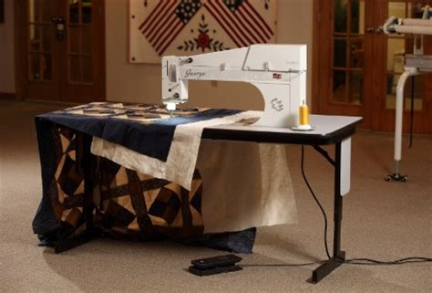 Longarm Quilting Machine Giveaway - george longarm quilting machine apqs