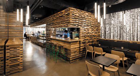 starbucks interior design starbucks store interior wood in interior design by