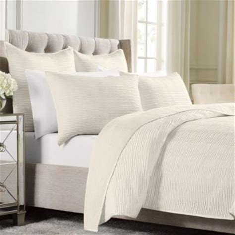 White Quilted Pillow Shams by Buy White Quilted Pillow Shams From Bed Bath Beyond