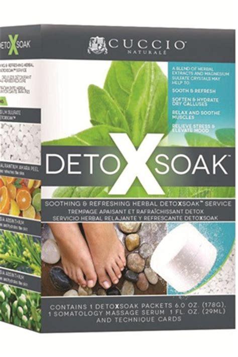 Detox Soak by De Stress Clients With Cuccio Herbal Detoxsoak Health
