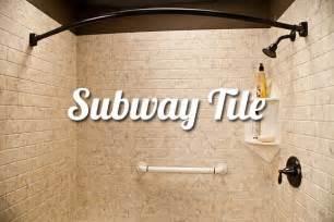 Bathtub Surrounds That Look Like Tile Subway Tile Bathroom Walls Liberty Home Solutions Llc