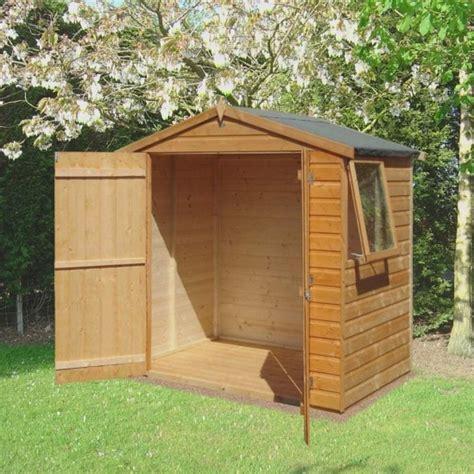 6x4 Shiplap Wooden Shed by Shire Bute Shiplap Apex Shed 6x4 Garden