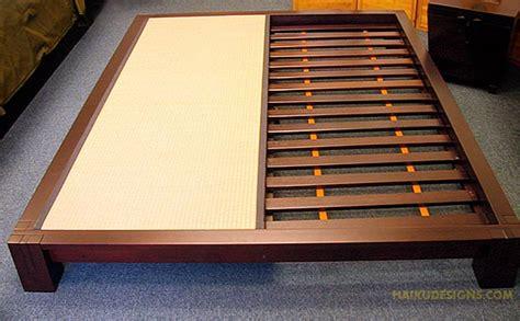 japanese tatami bed platform bed an architect explains architecture ideas