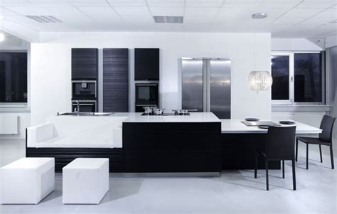 White And Black Kitchen Designs New Modern Black And White Kitchen Designs From Kitcheconcept Digsdigs