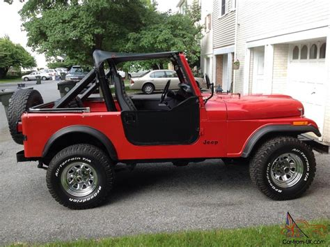 cj jeep wrangler cj cj7 jeep wrangler rock crawler amc