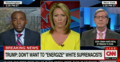 cnn live news room anchor cnn anchor breaks in tears on live tv after anti guest uses n word mirror