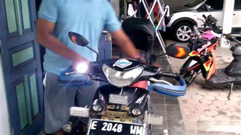 Modif Mio Sporty Touring modif mio sporty touring modifikasi motor kawasaki honda