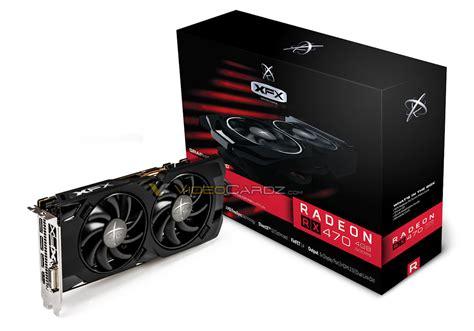 xfx rx 470 black edition gigabyte asus y xfx muestran sus radeon rx 470 custom