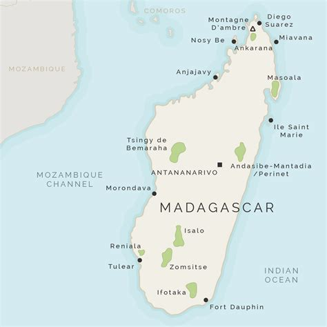 map of madagascar expert guide to perinet special reserve madagascar