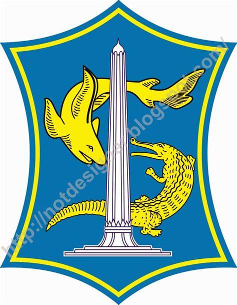 logo kota surabaya vector  designer