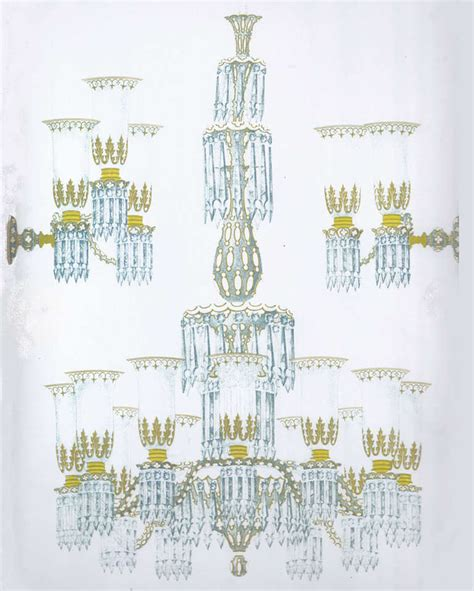 Matching Chandelier And Island Light Important Blue Glass Chandelier And Pair Of Matching Wall Lights By F C Osler At 1stdibs