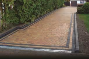 large block paved drive sm contractors