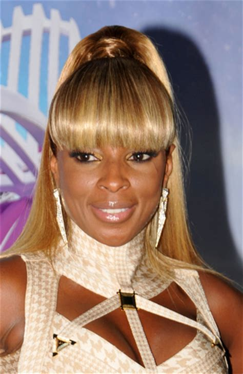 mary j natural hair radical hairstyles at the bet awards 2011 universal
