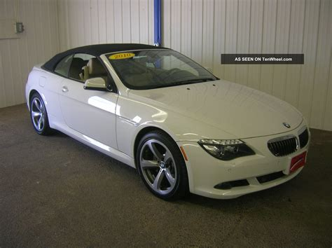 2010 bmw 650i specs bmw 6 series 650i 2010 auto images and specification