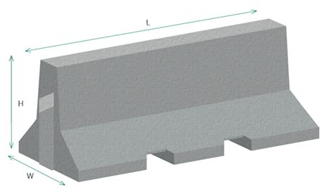Typical Seating Height by Concrete Jersey Barriers