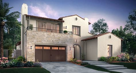New Homes Orange County by Altair Irvine Lumiere New Home Community Irvine