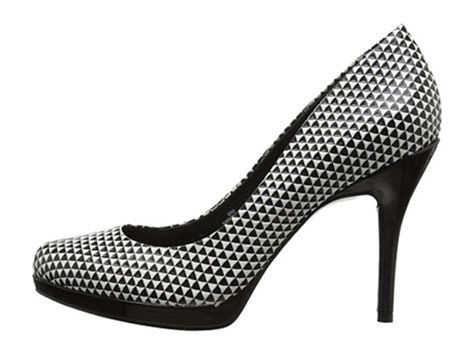 2017 cheap nine west black white leather platform shoes