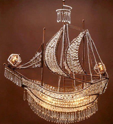 Pirate Ship Chandelier 10 Chandeliers Worm