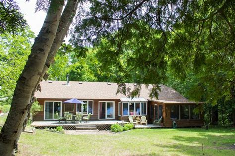 Cottage Rentals Bancroft by Peaceful No Motor Lake Cottage Rental Nr Bancroft