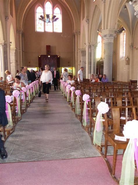 Decoration Mariage Eglise by Idee Deco Eglise Mariage
