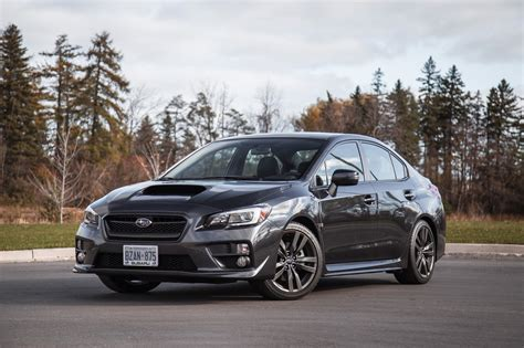 subaru metallic review 2017 subaru wrx sport tech cvt canadian auto review