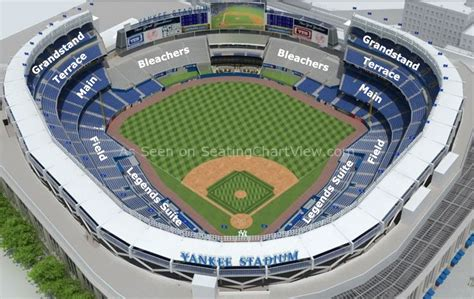 Yankee Stadium Seating Chart View Section by Yankee Stadium Bronx Ny Seating Chart View