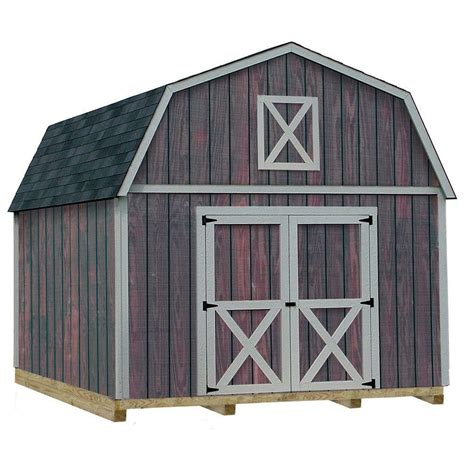 10 X 16 Wood Shed Kit With Floor - best barns denver 12 ft x 16 ft wood storage shed kit