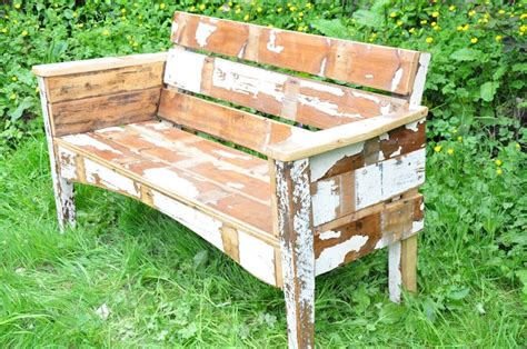 recycled garden bench recycled wood garden bench midlifefarmwifes secret