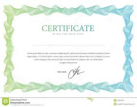 certificate vector template stock images image 31894284