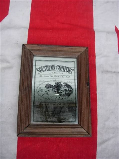 southern comfort mirror vintage southern comfort pub mirror