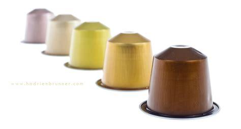 Des capsules Nespresso au studio de packshot
