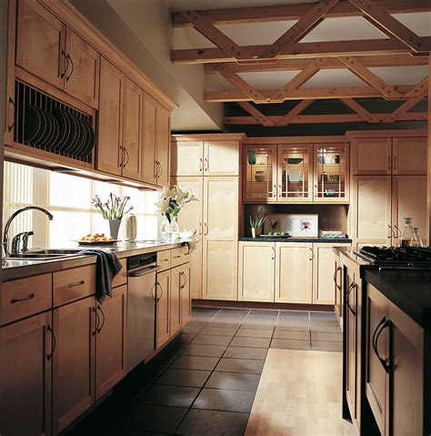 Maple Finish Kitchen Cabinets | gallery mid state kitchens
