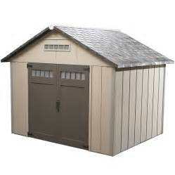 shop homestyles premier gable storage shed common 10 ft