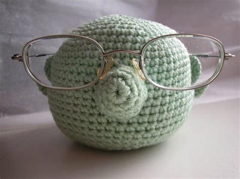 pattern for eyeglass holder crochet muppet glasses holder