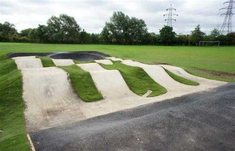 backyard bmx tracks clifton bmx pump track nottingham clifton skatepark
