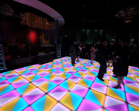 Lu Led Beat Illumifloor Dpc Event Services