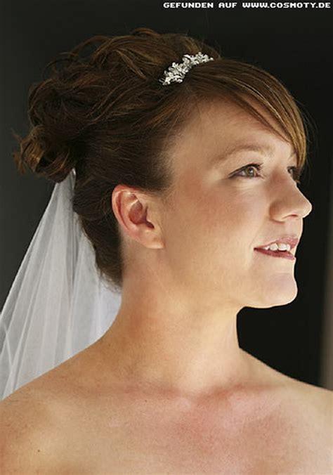 Braut Kurze Haare Schleier by Brautfrisuren Kurze Haare Mit Schleier