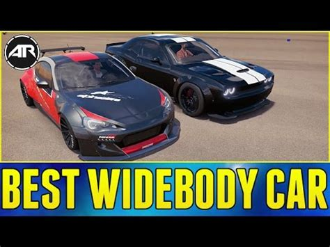 widebody cars forza horizon forza horizon 3 online best widebody car challenge