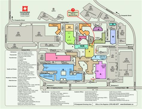 fanshawe college cus map html fanshawe usa states map collections college university university college maps