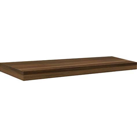 big boy floating shelf walnut 35 5 quot bluestone shelves
