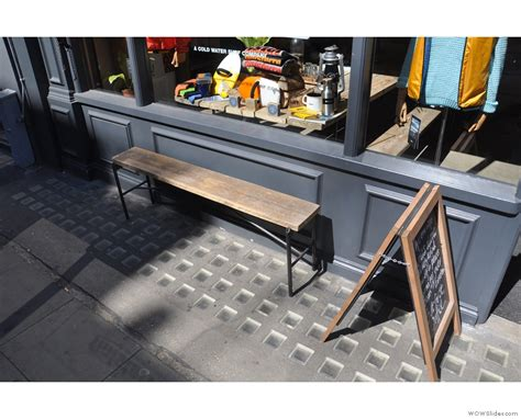 Coffee Shop Bench by Finisterre Brian S Coffee Spot